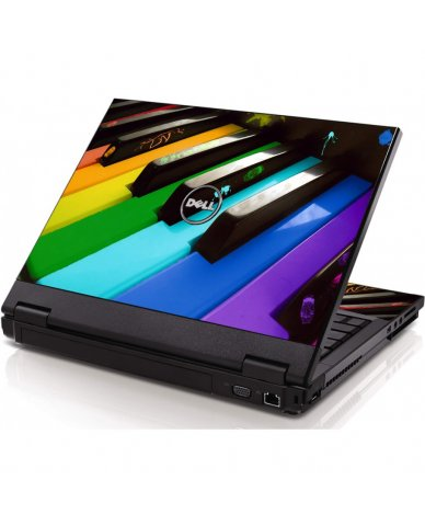 Colorful Piano Dell 1320 Laptop Skin