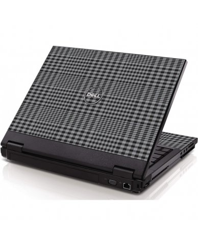 Darkest Grey Plaid Dell 1320 Laptop Skin