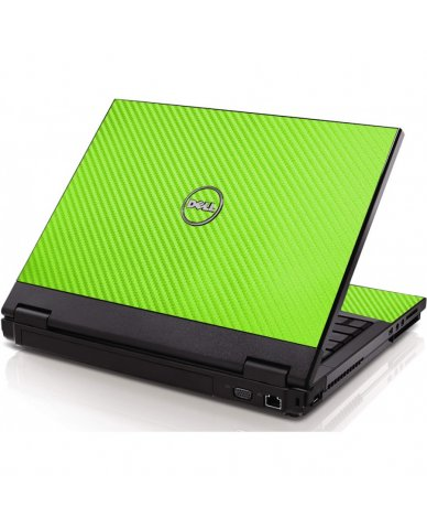 Green Carbon Fiber Dell 1320 Laptop Skin
