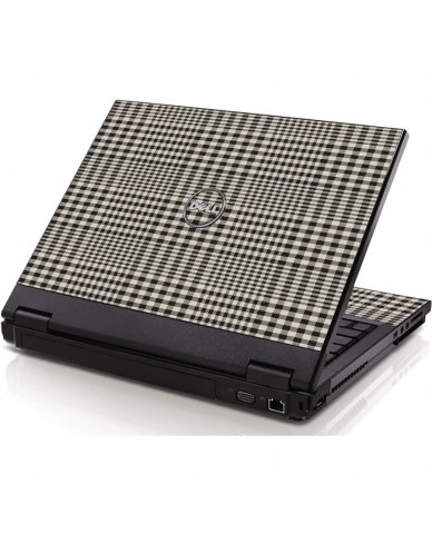 Grey Plaid Dell 1320 Laptop Skin