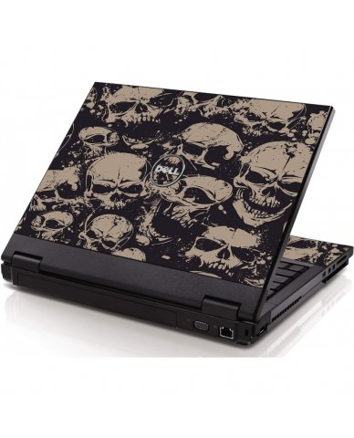 Grunge Skulls Dell 1320 Laptop Skin