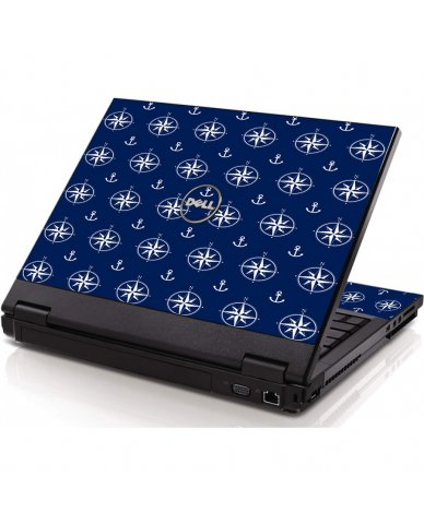Nautical Anchors Dell 1320 Laptop Skin