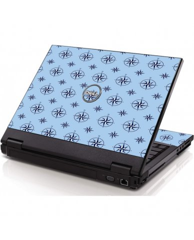 Nautical Blue Dell 1320 Laptop Skin