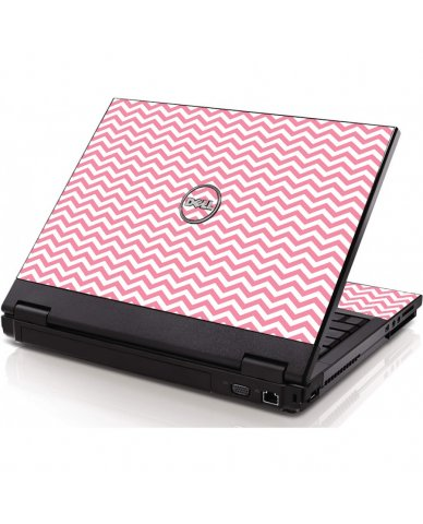 Pink Chevron Waves Dell 1320 Laptop Skin