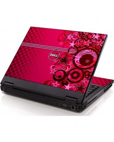 Pink Grunge Stars Dell 1320 Laptop Skin