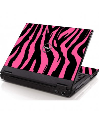 Pink Zebra Dell 1320 Laptop Skin