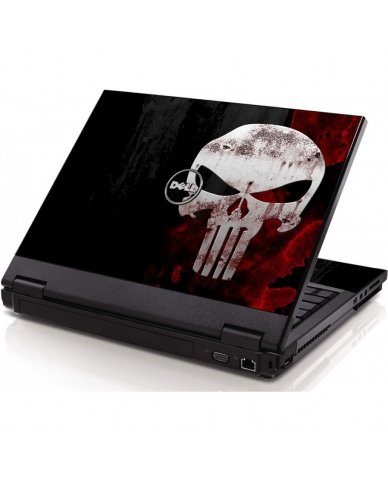 Punisher Skulll Dell 1320 Laptop Skin