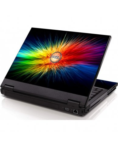 Rainbow Burst Dell 1320 Laptop Skin