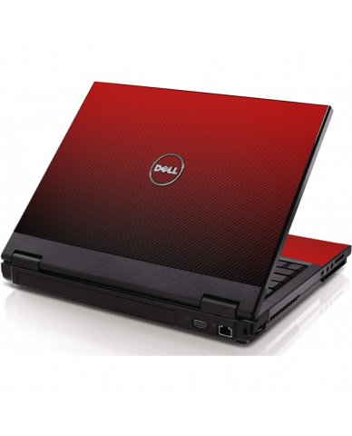 Red Carbon Fiber Dell 1320 Laptop Skin