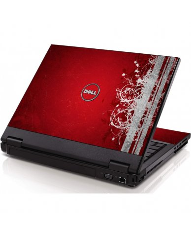 Red Grunge Dell 1320 Laptop Skin