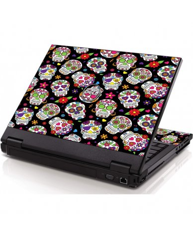 Sugar Skulls Dell 1320 Laptop Skin