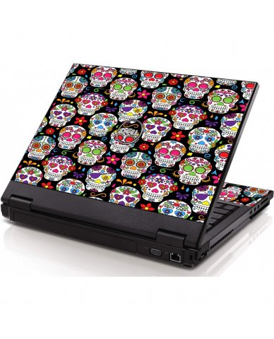 Sugar Skulls Seven Dell 1320 Laptop Skin