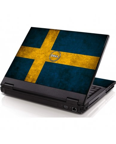 Swedish Flag Dell 1320 Laptop Skin