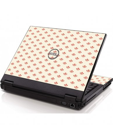 White And Pink Versailles Dell 1320 Laptop Skin