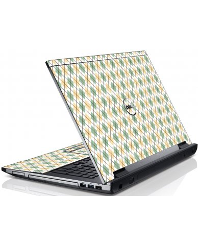 Argyle Dell V3550 Laptop Skin