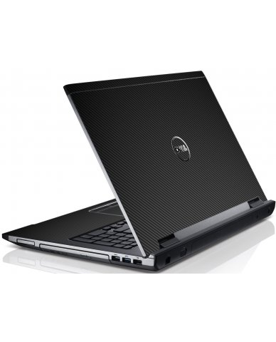 Black Carbon Fiber Dell V3550 Laptop Skin