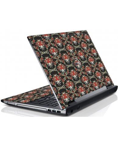 Flower Black Versailles Dell V3550 Laptop Skin