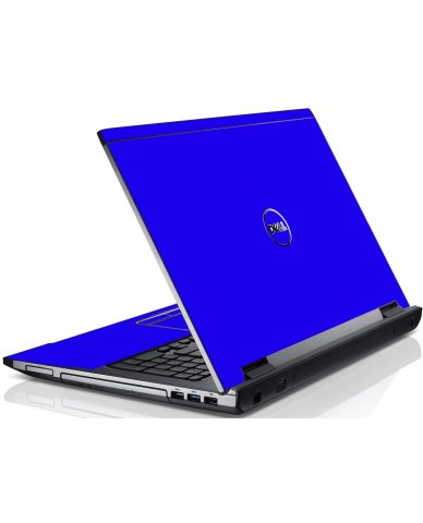 Blue Dell V3550 Laptop Skin