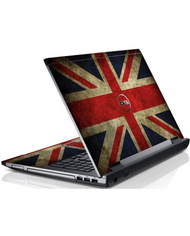 British Flag Dell V3550 Laptop Skin