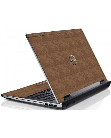 Dark Damask Dell V3550 Laptop Skin