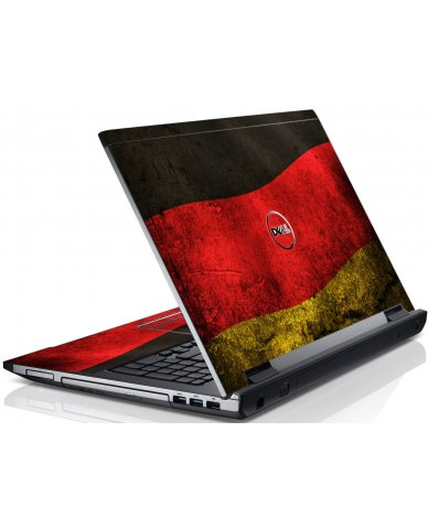 German Flag Dell V3550 Laptop Skin
