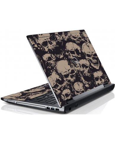 Grunge Skulls Dell V3550 Laptop Skin