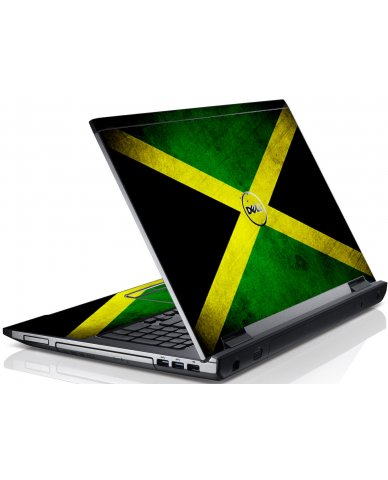 Jamaican Flag Dell V3550 Laptop Skin