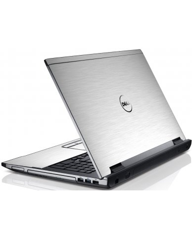 Mts#1 Textured Aluminum Dell V3550 Laptop Skin