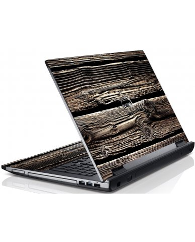 Wood Dell V3550 Laptop Skin
