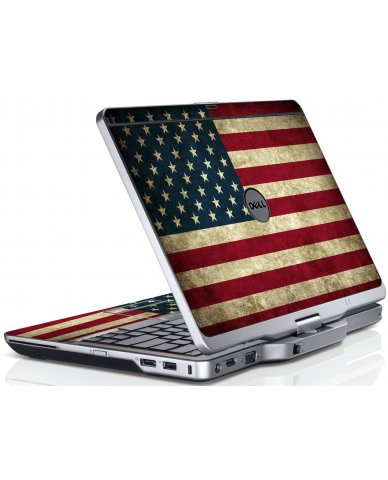 American Flag Dell XT3 Laptop Skin
