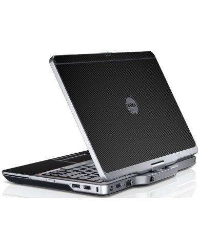Black Carbon Fiber Dell XT3 Laptop Skin