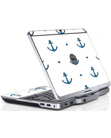 Blue Anchors Dell XT3 Laptop Skin