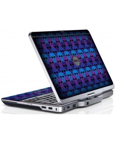 Blue Skulls Dell XT3 Laptop Skin