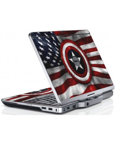 Capt America Flag Dell XT3 Laptop Skin