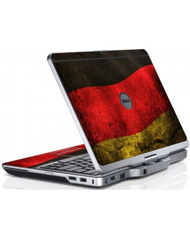 German Flag Dell XT3 Laptop Skin