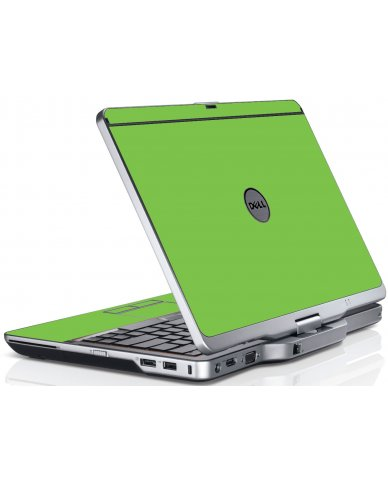 Green Dell XT3 Laptop Skin