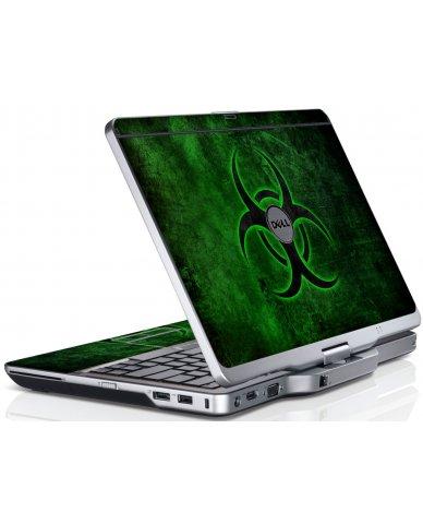 Green Biohazard Dell XT3 Laptop Skin