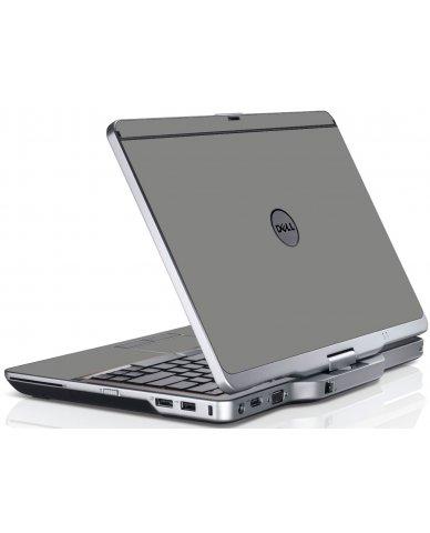 Grey Silver Dell XT3 Laptop Skin