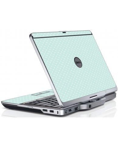 Light Blue Polka Dell XT3 Laptop Skin