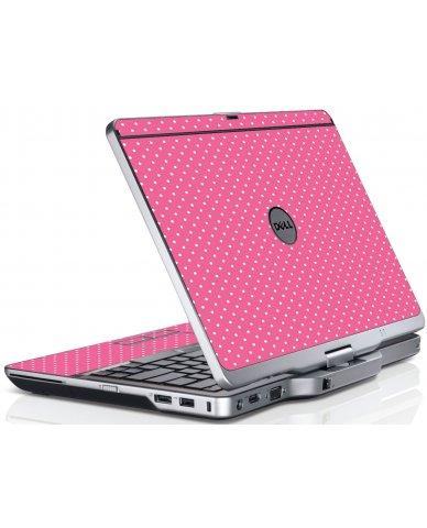 Pink Polka Dot Dell XT3 Laptop Skin