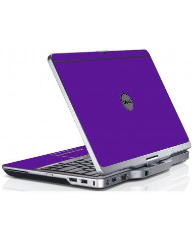 Purple Dell XT3 Laptop Skin