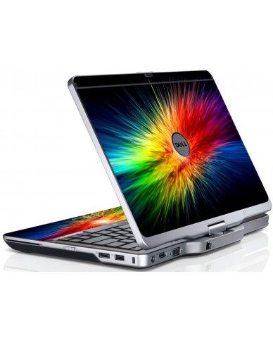 Rainbow Burst Dell XT3 Laptop Skin