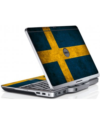 Swedish Flag Dell XT3 Laptop Skin