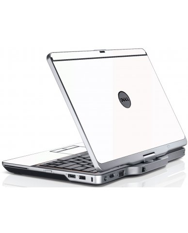 White Dell XT3 Laptop Skin