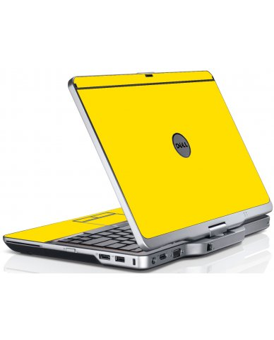 Yellow Dell XT3 Laptop Skin
