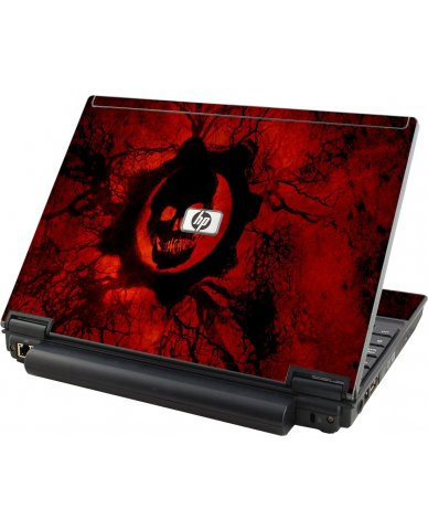 Dark Skull HP Compaq 2510P Laptop Skin