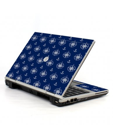 Nautical Anchors HP EliteBook 2560P Laptop Skin