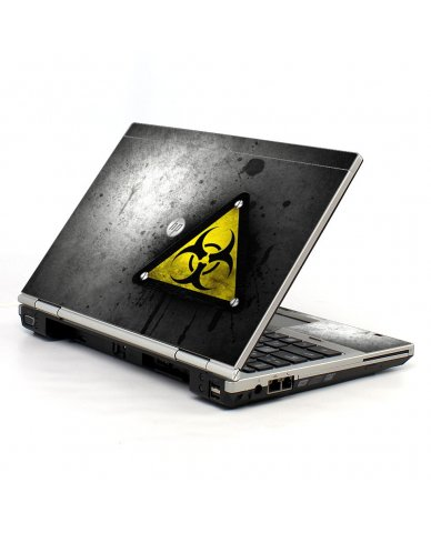 Black Caution 2570P Laptop Skin