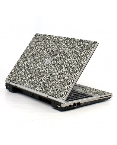 Black Versailles 2570P Laptop Skin