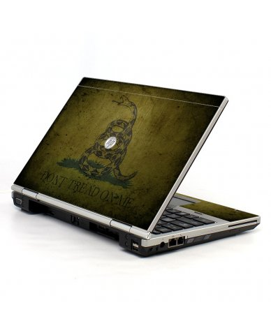 Green Don't Tread On Me 2570P Laptop Skin